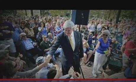 "Newt Gingrich Ad Rails Against ""Liberal"" Republican Establishment, Laments Lack of Funds"