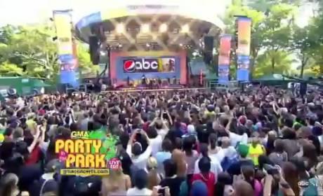 The Backstreet Boys on Good Morning America