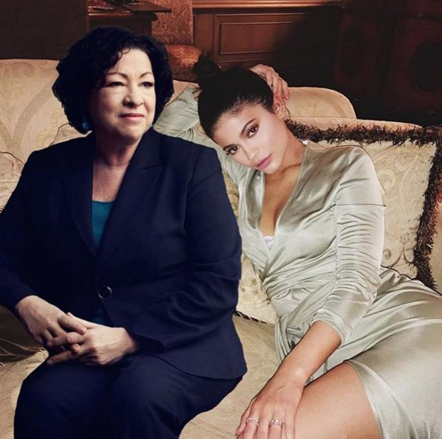 She hangs out with Sonia Sotomayor!