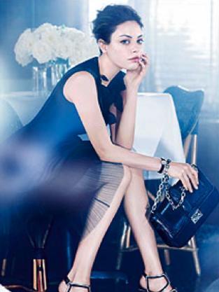Mila Kunis Dior Ad