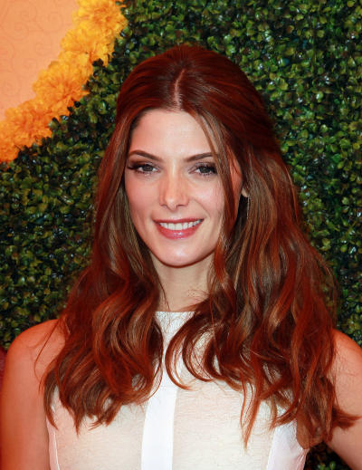 Ashley Greene as a Red Head