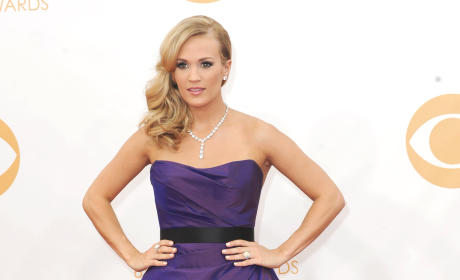 Carrie Underwood at the Emmys