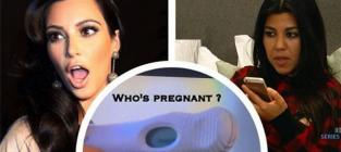 Khloe Kardashian Posts Positive Pregnancy Test: Who's Knocked Up?!