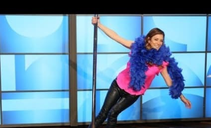 Kate Walsh Pole Dances on Ellen, Really Wants More Twitter Followers