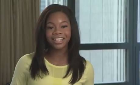 Gabby Douglas Literally Flips Out For McDonald's