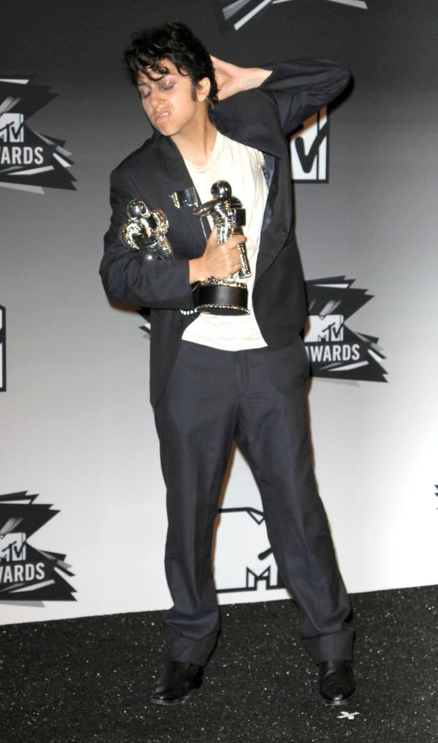 Lady Gaga Dressed as a Man