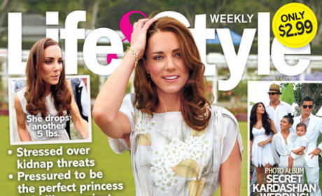 "Kate Middleton Under ""Immense"" Stress and Pressure to Stay Thin, Tabloid Reports"