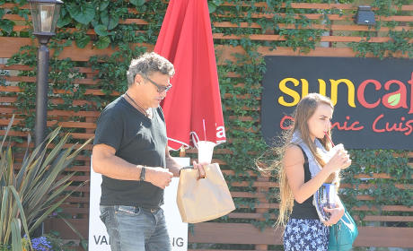 Steven Bauer, 57-Year Old Actor, Steps Out with Girlfriend Lyda Loudon: SHE'S 18!