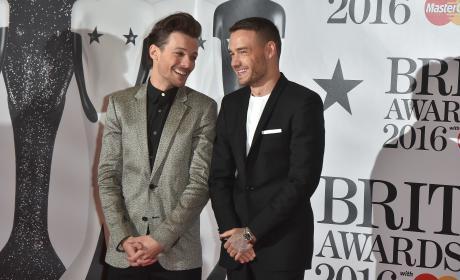 Louis Tomlinson & Liam Payne: 2016 BRIT Awards