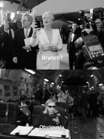 Hillary Clinton and Meryl Streep Texting