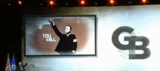 Glenn Beck Bloomberg Hitler Photo