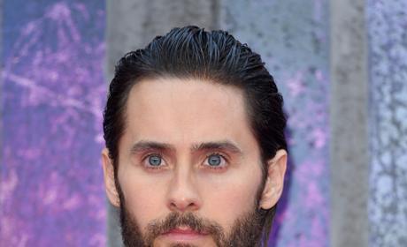 Jared Leto Attends 'Suicide Squad' - European Premiere - Red Carpet Arrivals