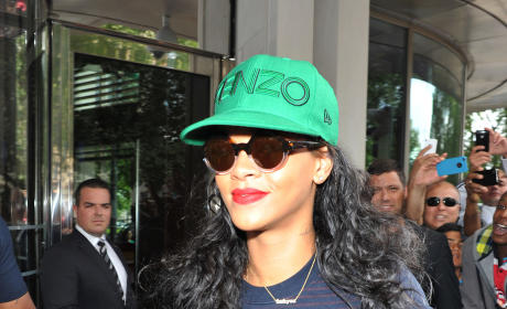 Rihanna on the Street