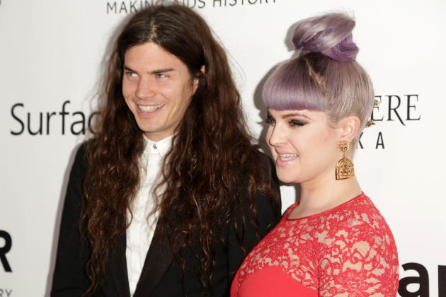 Matthew Mosshart and Kelly Osbourne