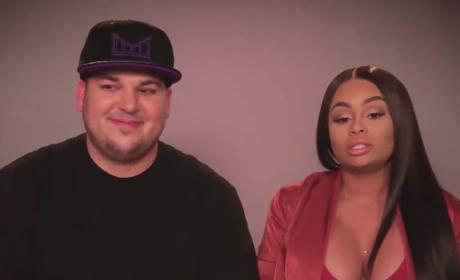 Rob Kardashian and Blac Chyna Reveal Their Childhood Crushes