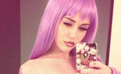 Miley Cyrus Dresses as Breast-Exposed Lil Kim for Halloween