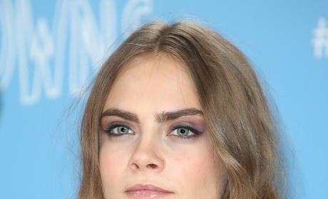 Cara Delevingne in Black