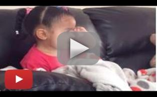 Little Girl Reacts to The Lion King