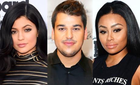 Blac Chyna and Rob Kardashian: Living Together Already?!