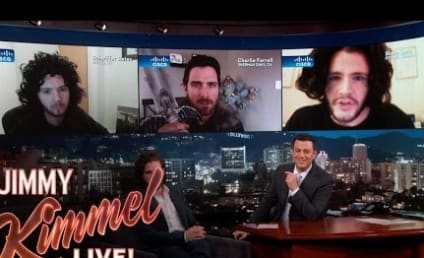 Kit Harington Judges Jon Snow Impressions with Jimmy Kimmel!