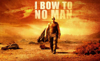 Riddick Banner: He Bows to No Man!