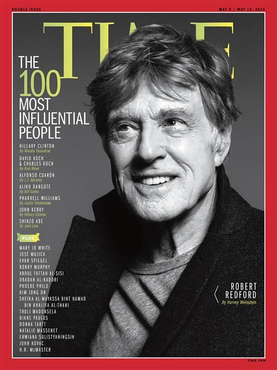 Robert Redford Time Cover