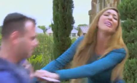 Farrah Abraham Fights Teen Mom Producer: Watch the Video!