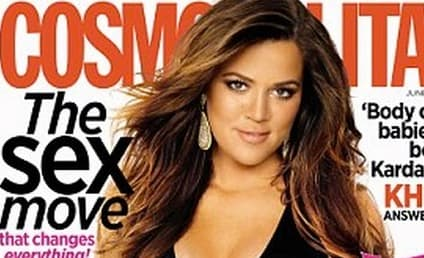 Khloe Kardashian Kovers Cosmo; Talks Body Issues, Kanye, Kim and More!