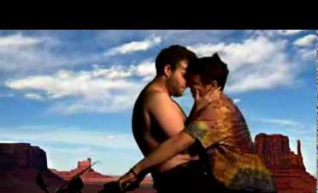 "James Franco and Seth Rogen Recreate Kim and Kanye ""Bound 2"" Music Video"
