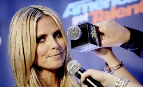 Heidi Klum Interview Pic