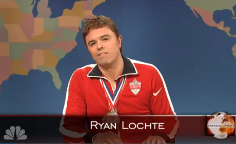 Seth MacFarlane CRUSHES Ryan Lochte on SNL