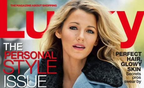 Blake Lively Lucky Cover: Lovely (But Not Pregnant)