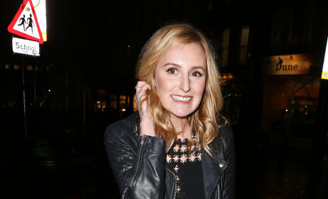 'Downton Abbey' Star Laura Carmichael at Charlotte Tilbury's Christmas Party