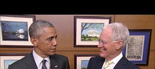 Presidents Say Goodbye to David Letterman