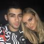 Perrie Edwards with Zayn Malik