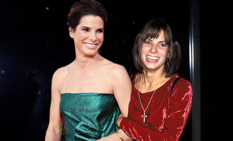 Sandra Bullock in 2014 and 1993