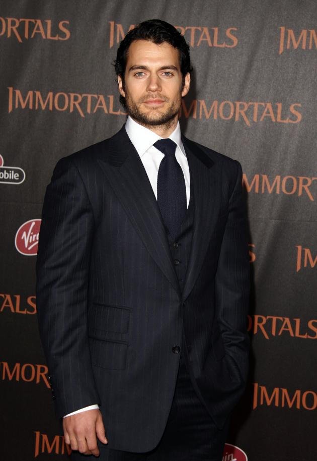 Henry Cavill Premiere Pic
