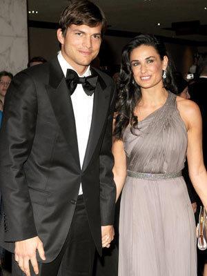 Ashton and Demi Pic