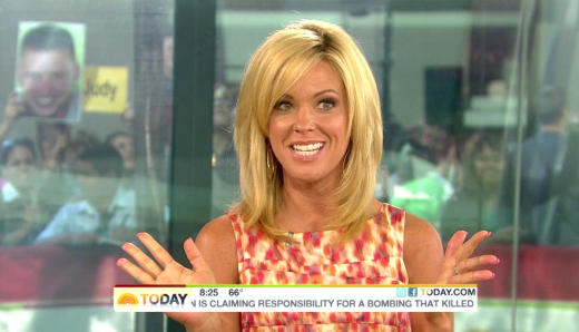 Kate Gosselin on Today Show Pic