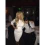 Kim Zolciak in white dress