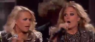 Carrie Underwood, Miranda Lambert Billboard Music Awards Performance 2014