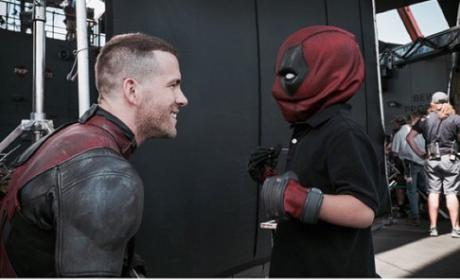 Ryan Reynold Make-A-Wish Pic