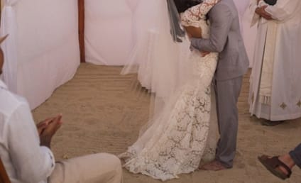 Naya Rivera Shares New Wedding Ceremony Photo: Do You Like Her Dress?
