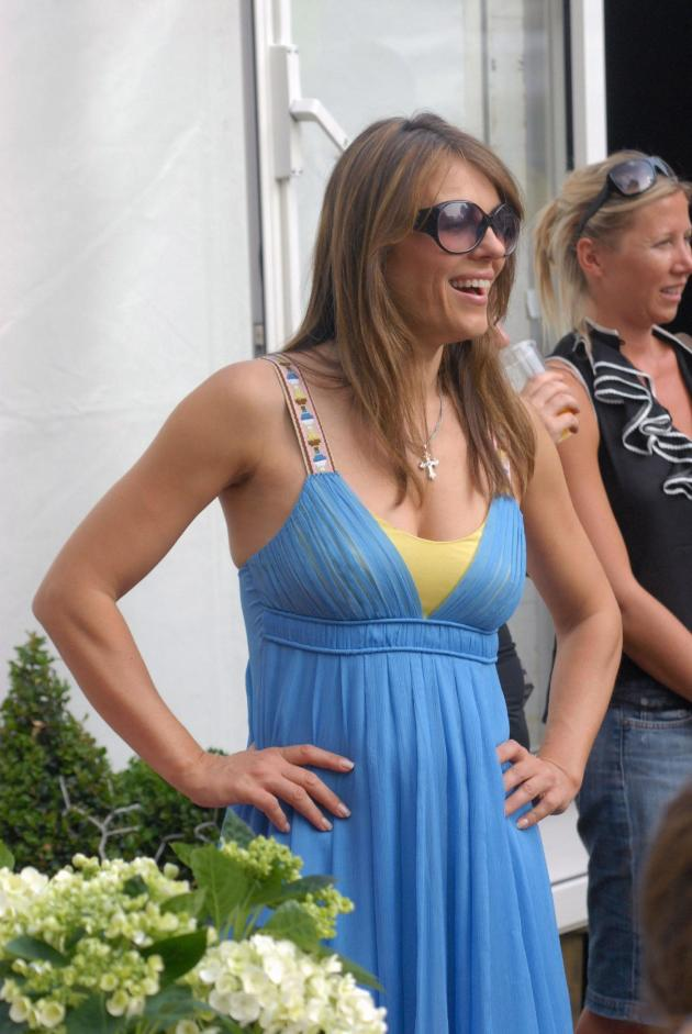 Elizabeth Hurley Summer Dress