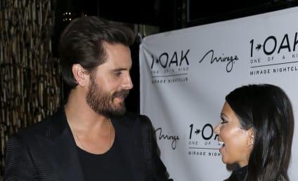 Kourtney Kardashian Visits Scott Disick in Rehab, Takes Kids