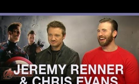 Chris Evans & Jeremy Renner: Black Widow is a Slut!
