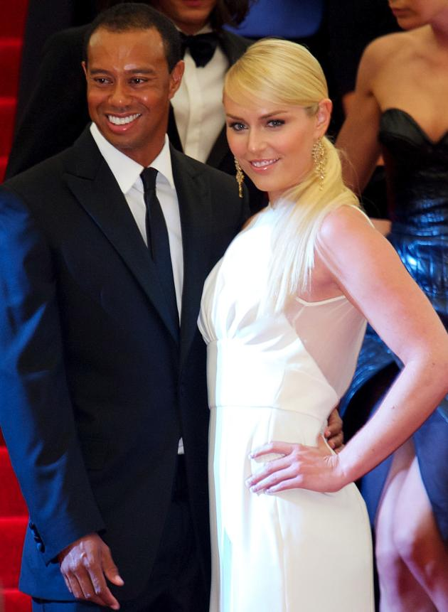 Lindsey Vonn and Tiger Woods Picture