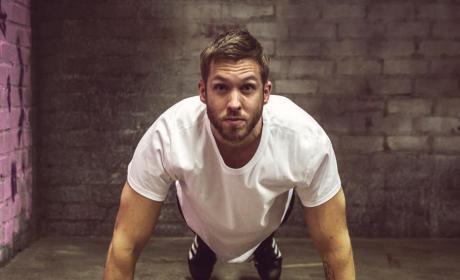Calvin Harris to Haters: Huh? I Can't See You!