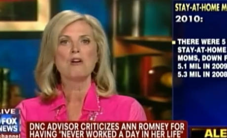 Ann Romney, Wife of Mitt, Responds to Stay-at-Home-Mom Criticism