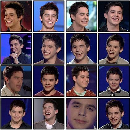 The Faces of David Archuleta